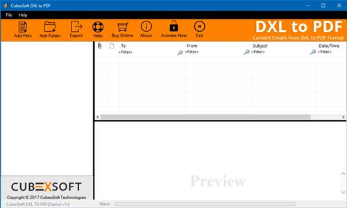 DXL to PDF Converter Tool 1.0