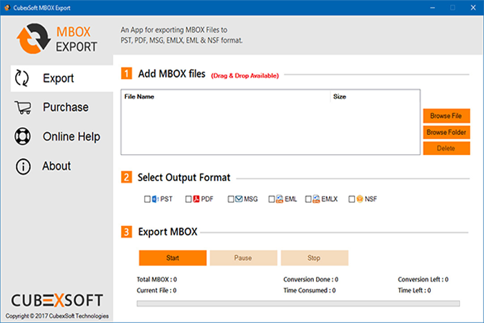 MailsMagic MBOX to Zimbra full screenshot
